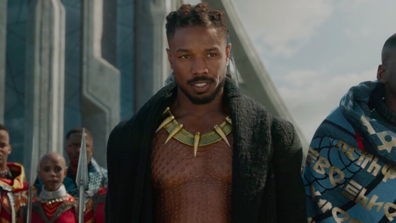 killmonger-black panther-marvel