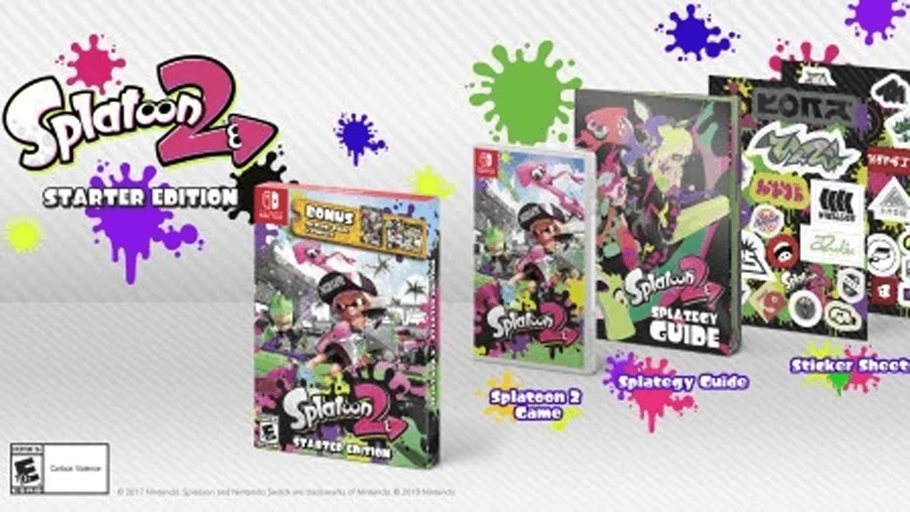 Splatoon 2 Starter Edition and Amiibo Incoming