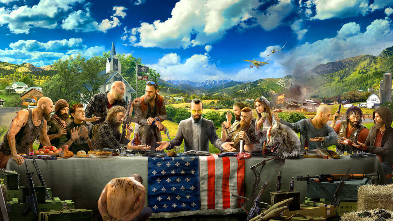 Fans Shocked At Low Polygon Rating For Far Cry 5