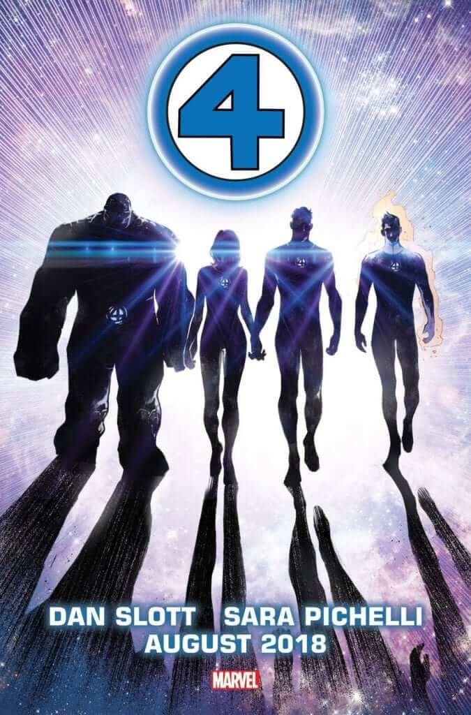 the fantastic four-marvel comics-dan slott-sara pichelli
