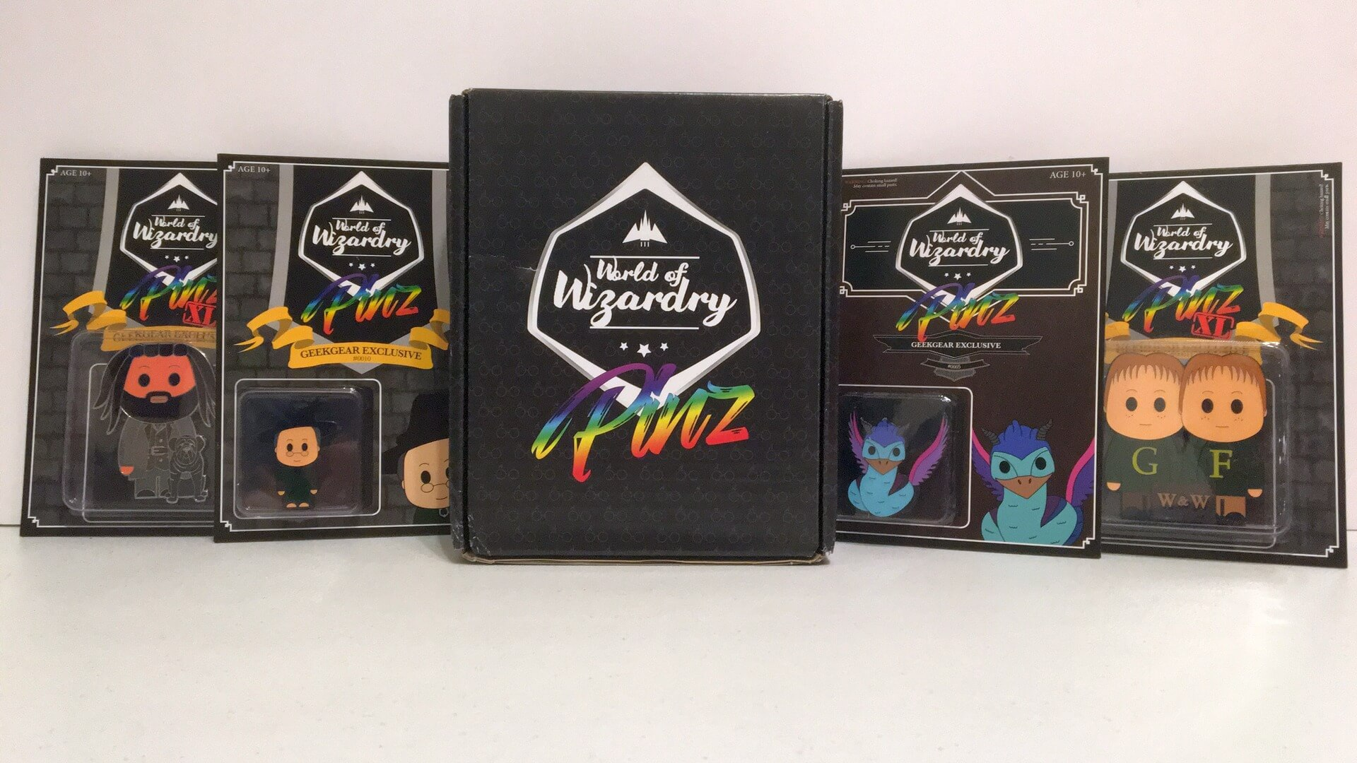 Geek Gear PINZ:  A World of Wizardry as a Collection of Pins - Review