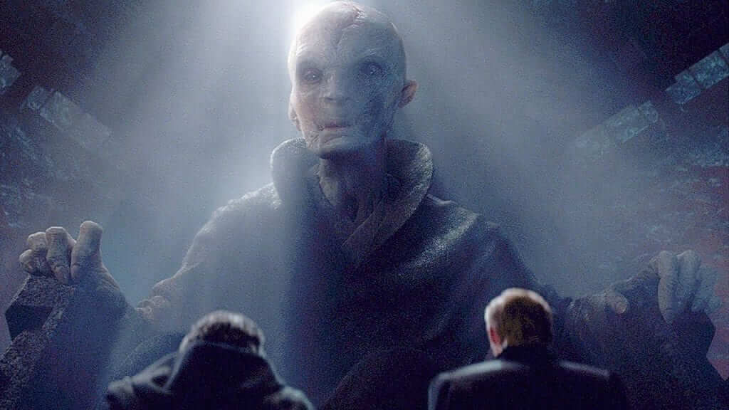 Star Wars: Andy Serkis Reveals Snoke Was Hundreds of Years Old