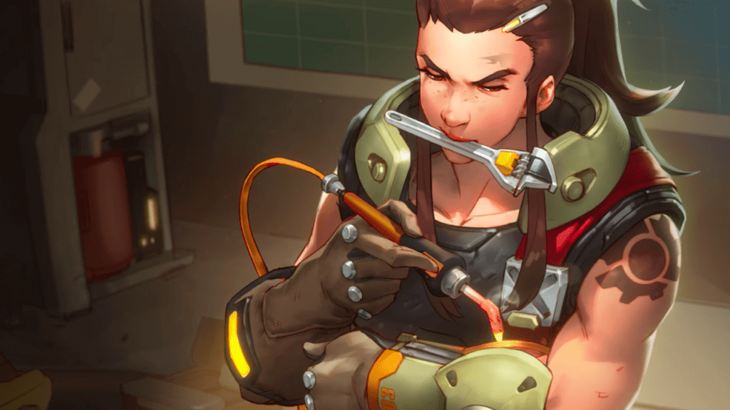 Hero 27, Brigitte Shield Bashes Into Overwatch