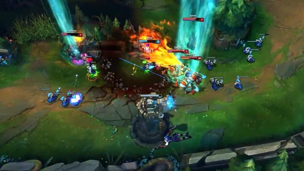 How Turrets In League Of Legends Will Now Help You Farm Under Tower