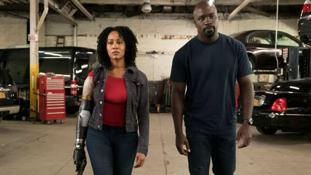 Luke Cage Season 2 Images Show off Misty Knight's New Bionic Arm