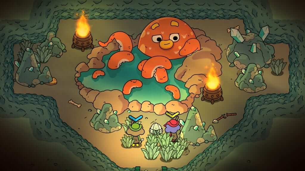Zelda-like Couch Co-op The Swords of Ditto Coming in April