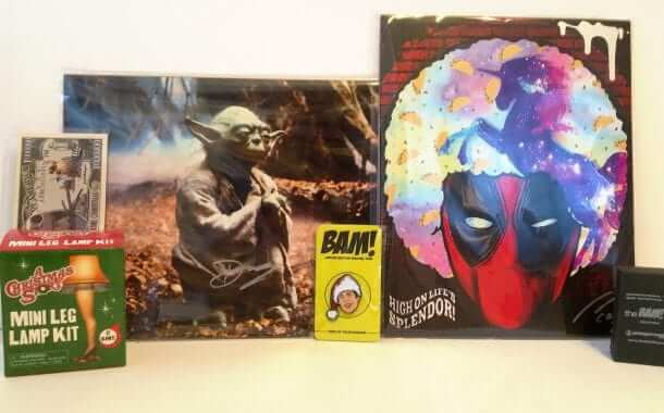 The Bam Box: Collectibles, Autographs, Prop Replicas and More - Review