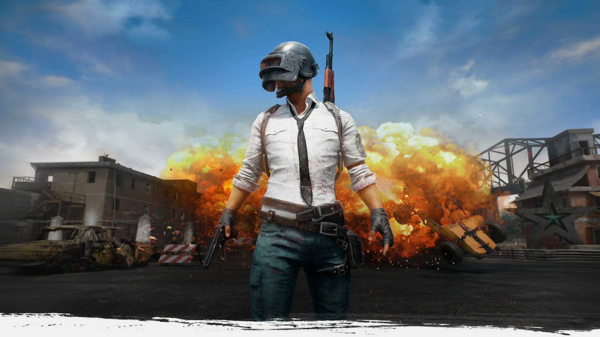 This weekend's PUBG event mode is War