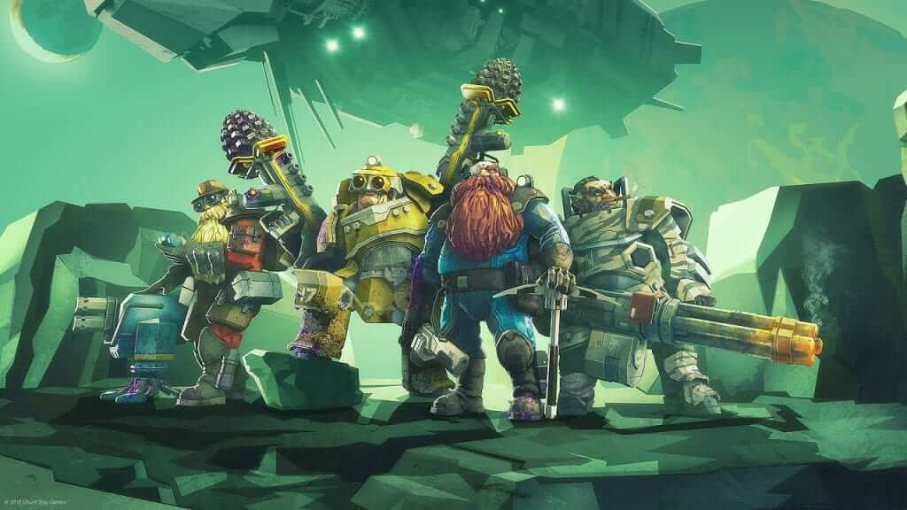 Deep Rock Galactic Early Access Impressions