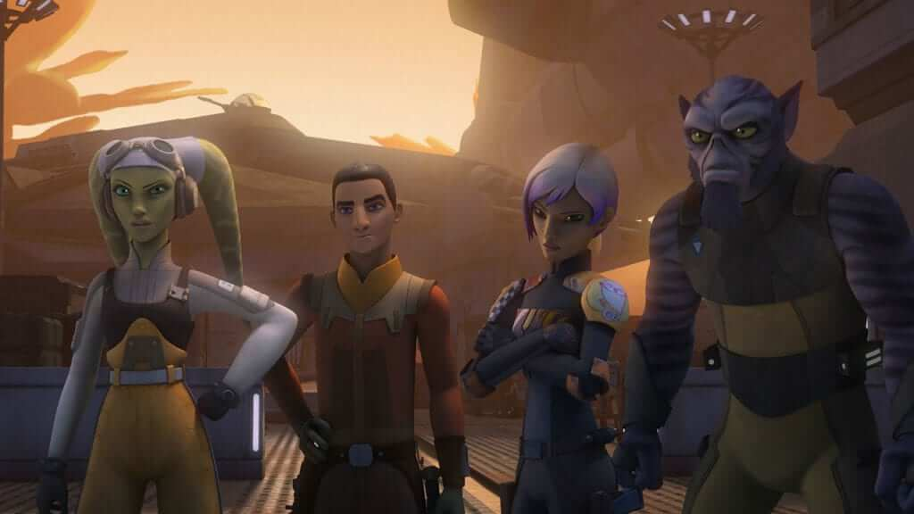 Disney Reveals New Animated Series Titled Star Wars: Resistance