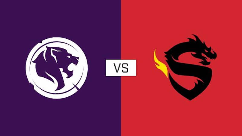 Overwatch League Gladiators v Dragons