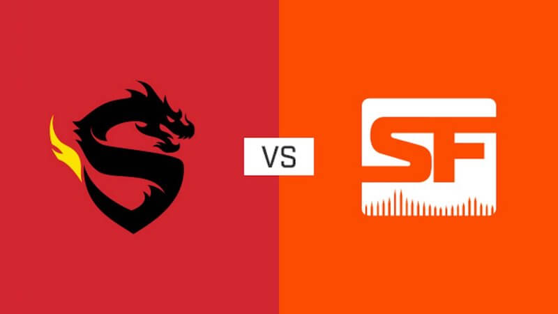 Overwatch League Dragons v Shock