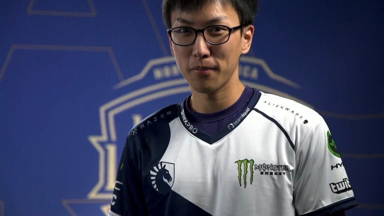 League of Legends' Doublelift of Team Liquid Experiences A Devastating Tragedy