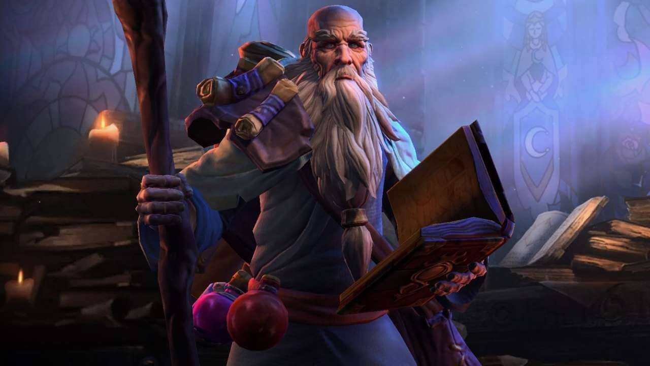 Heroes of the Storm Adds Diablo's Horadric Scholar Deckard Cain