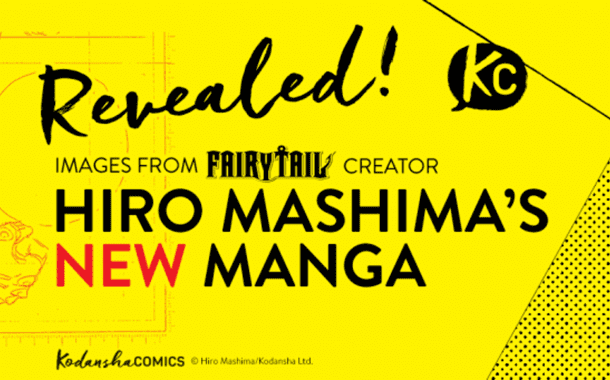 Hiro Mashima's New Series is Almost Here!