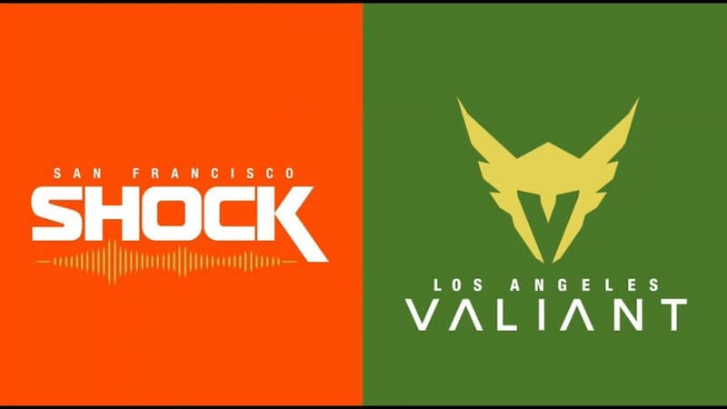 Overwatch League Shock v Valiant