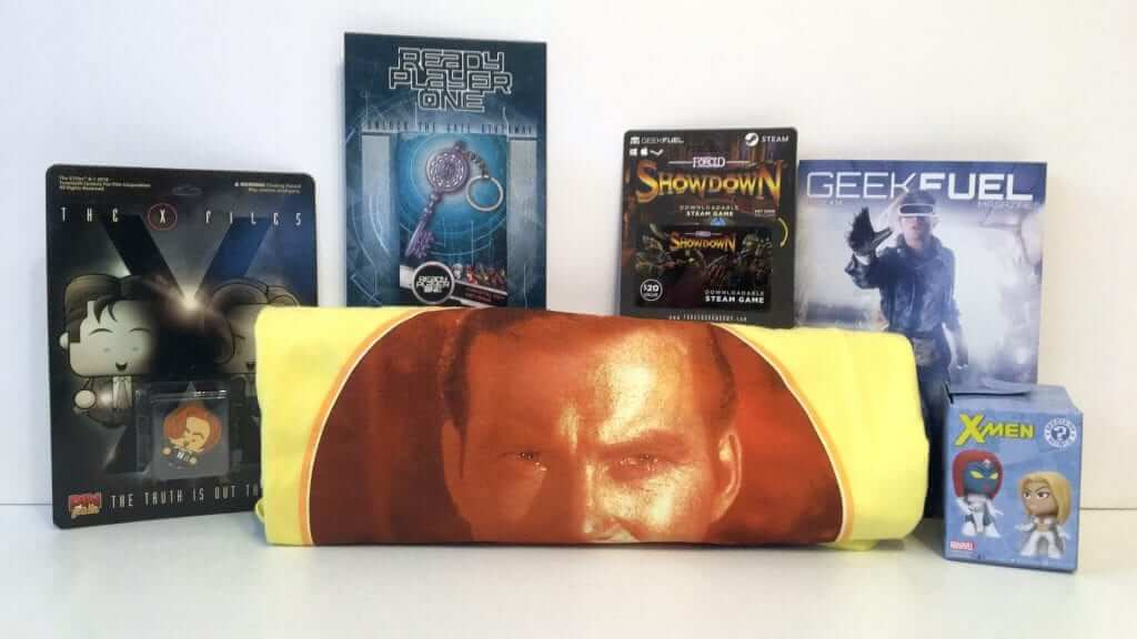 Geek Fuel: Get your Monthly T-Shirt and Game - Review