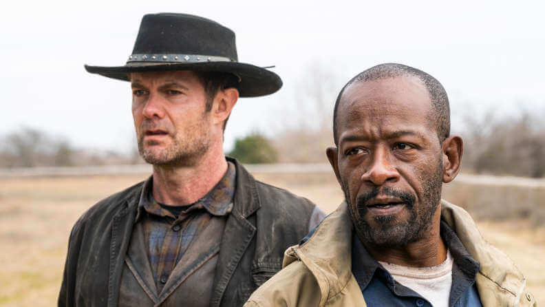Garret Dillahunt Lennie James FTWD