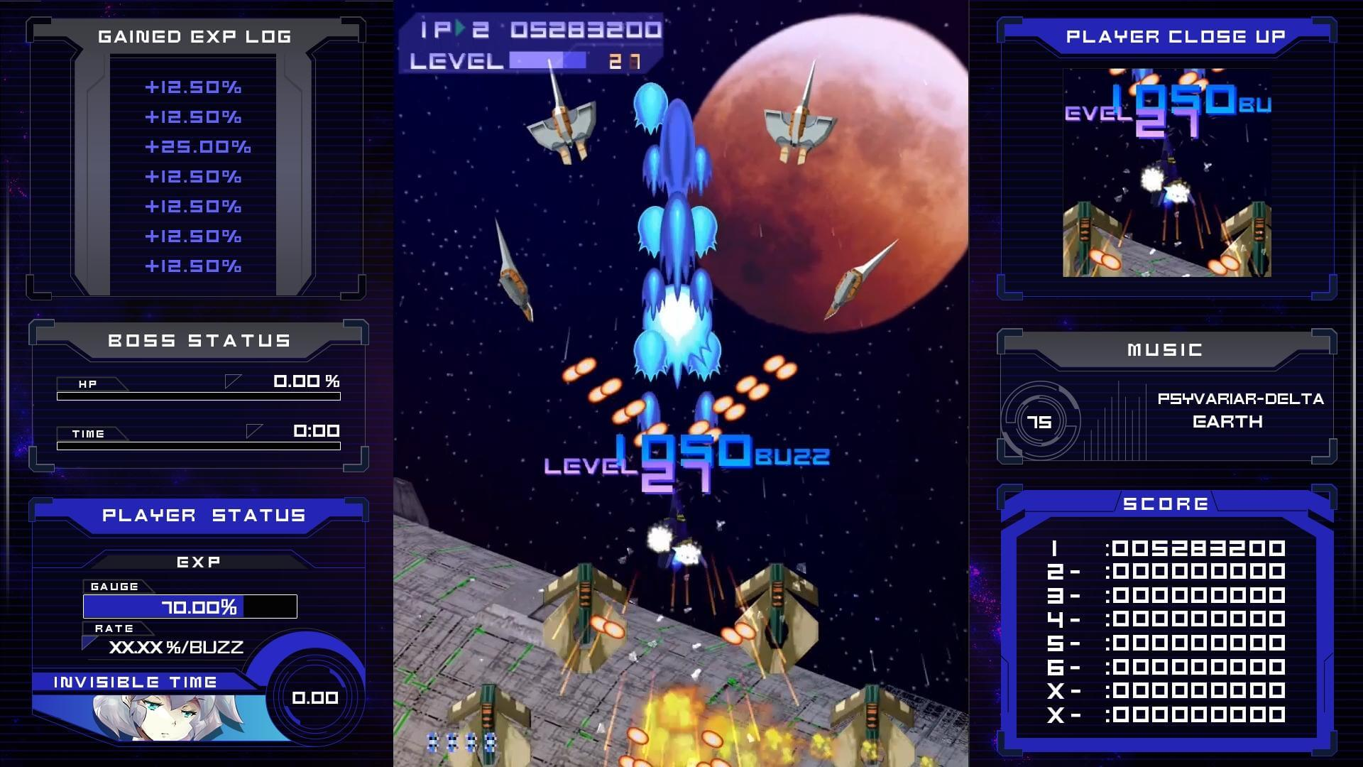 Psyvariar Delta Coming to Nintendo Switch and PlayStation 4