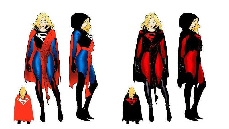 Supergirl Catwoman