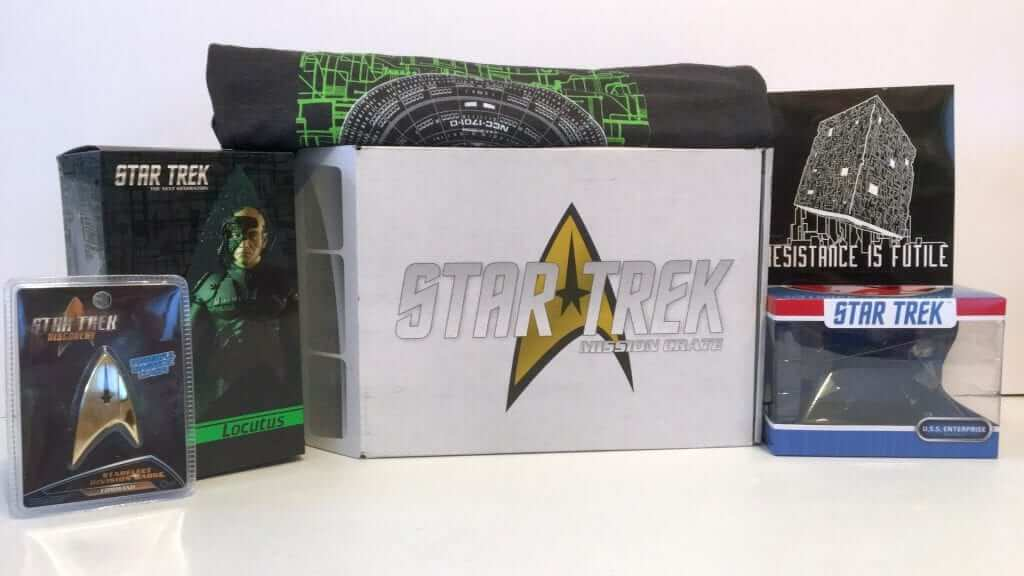 Star Trek Mission Crate- Mission 001: WOLF 359 - Review