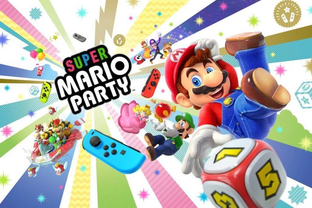 E3 2018: Super Mario Party is Coming to Switch