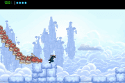Brand New Gameplay of The Messenger Features Beautiful and Unique Terrains