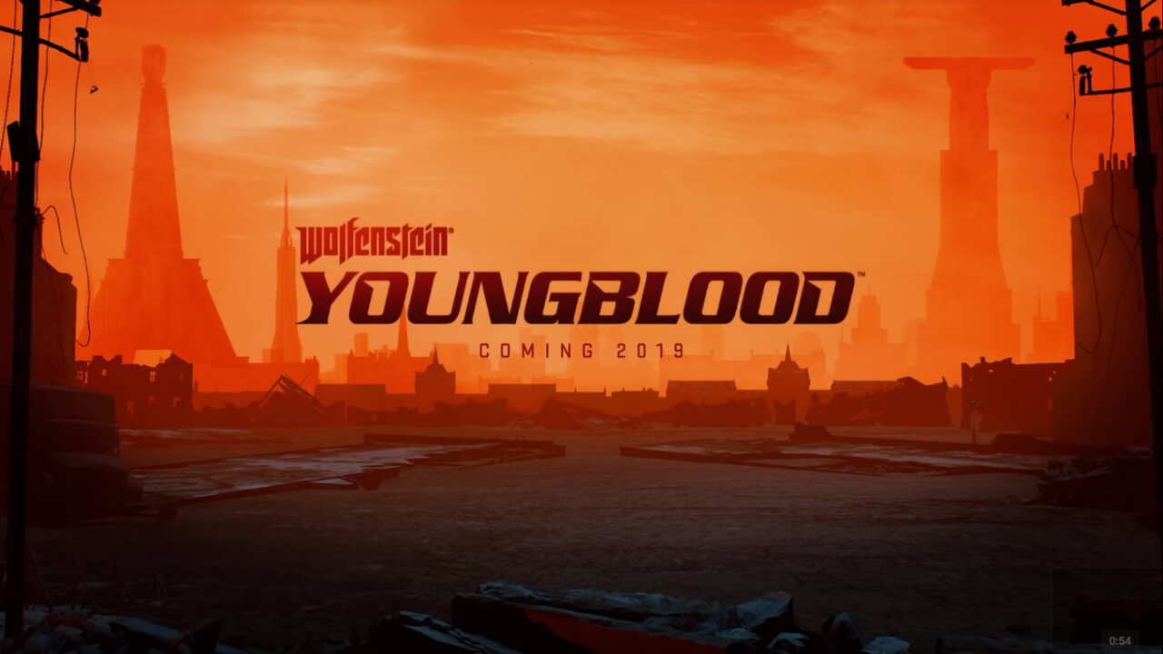 Wolfenstein: Youngblood Announced, Set in 80s Paris, Includes Co-op Mode