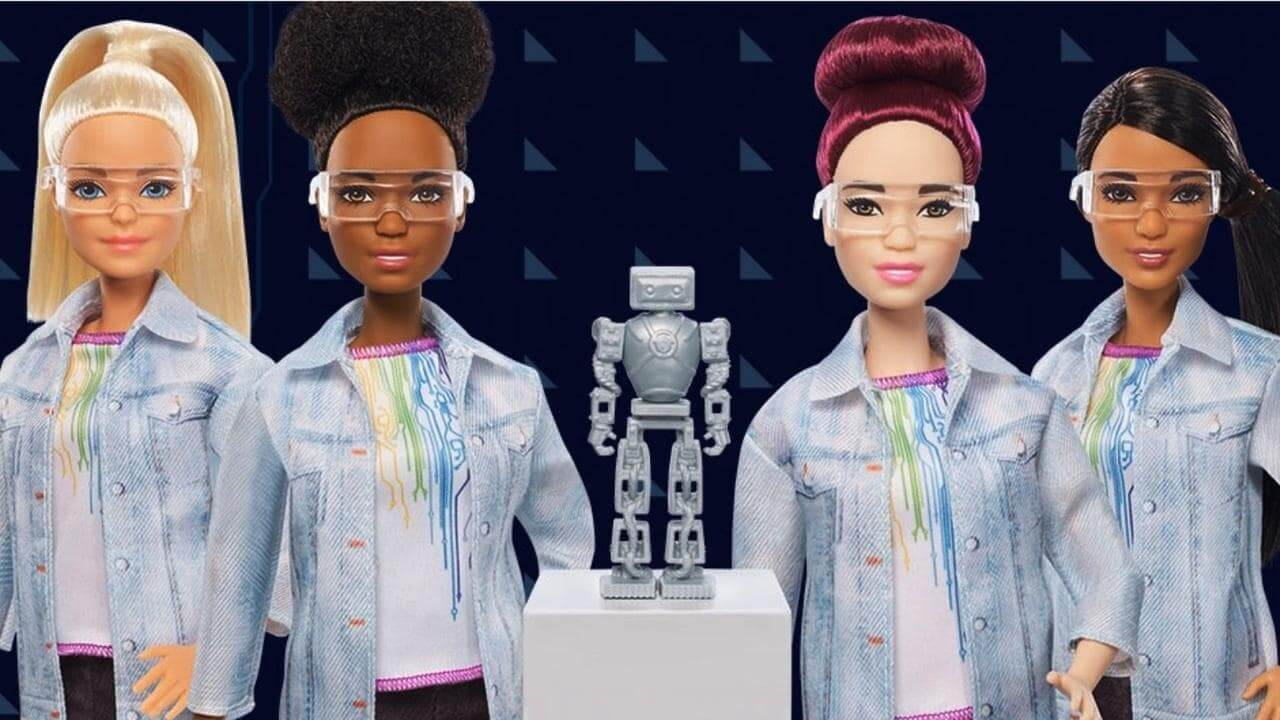 Barbie is a Robotics Engineer now