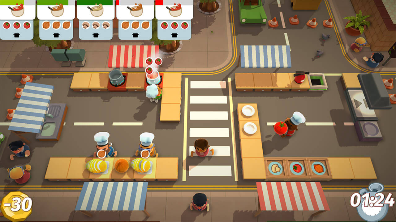 E3 2018: Nintendo Freshens up Local Multiplayer with Overcooked 2 and Killer Queen Black