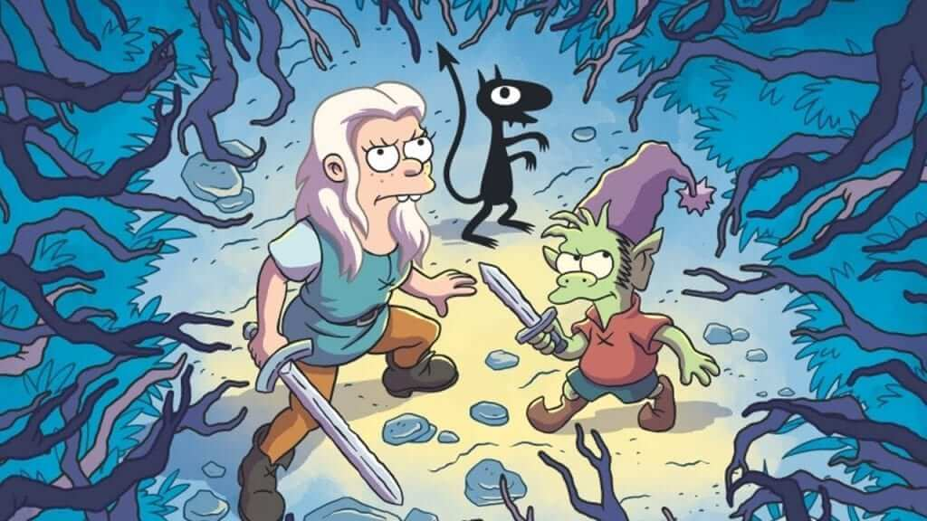 Teaser Lands For Matt Groening's Disenchantment