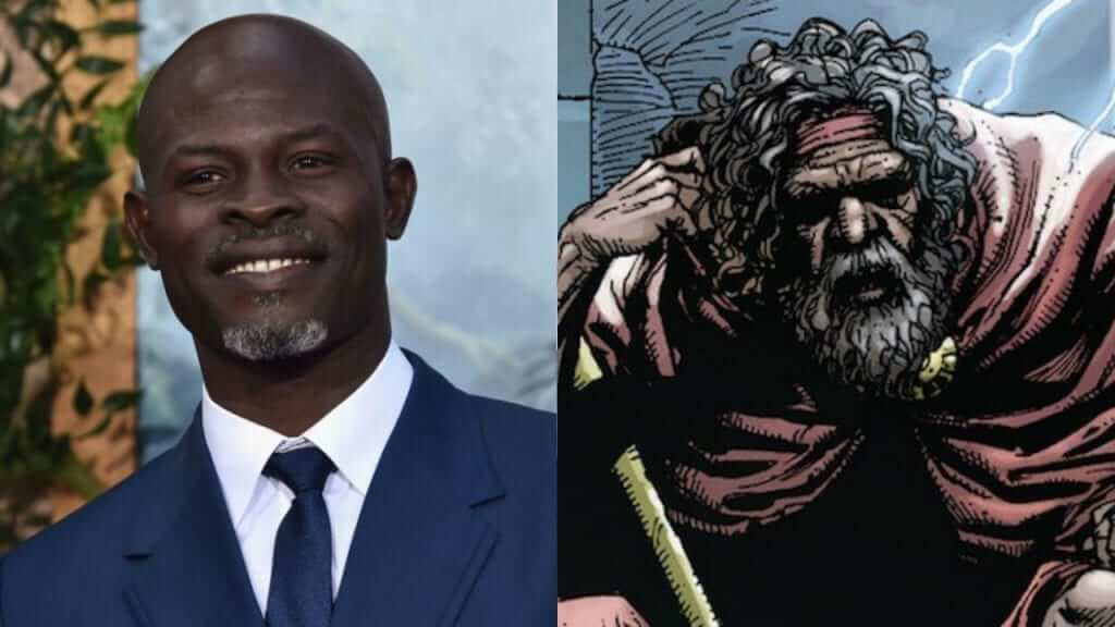 Guardians Supporting Actor Djimon Hounsou Cast in Shazam!