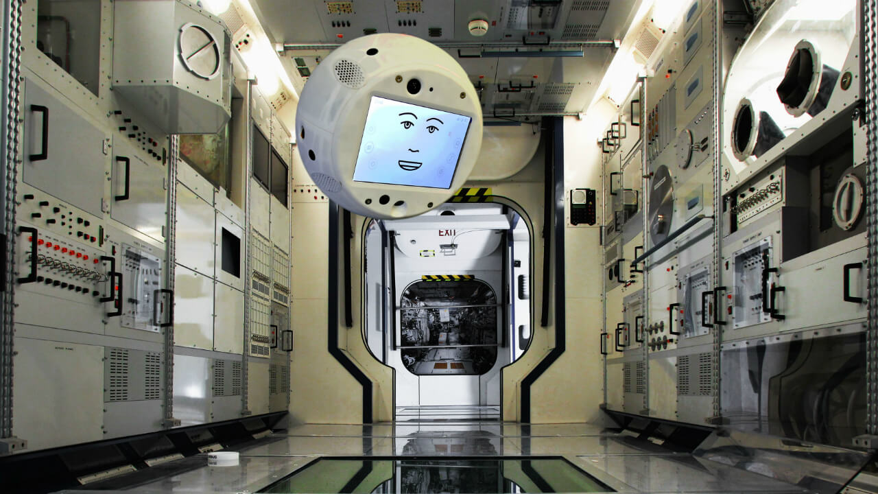 CIMON, the First AI Companion to go into Space