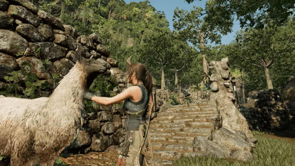 Shadow of the Tomb Raider New Gameplay Ft. Llamas