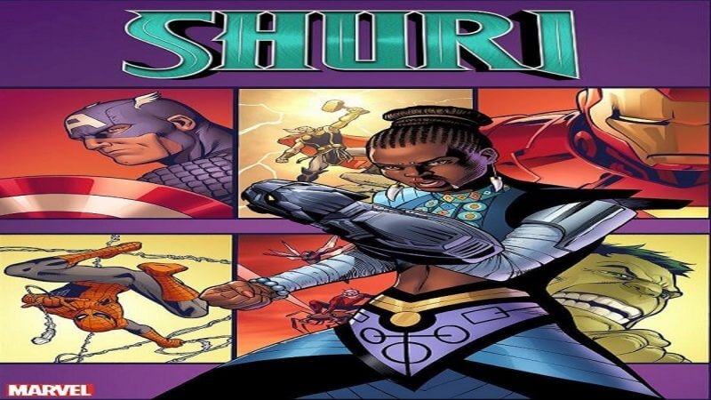 Shuri, Princess Of Wakanda, Is Getting Her Own Comic Book Series