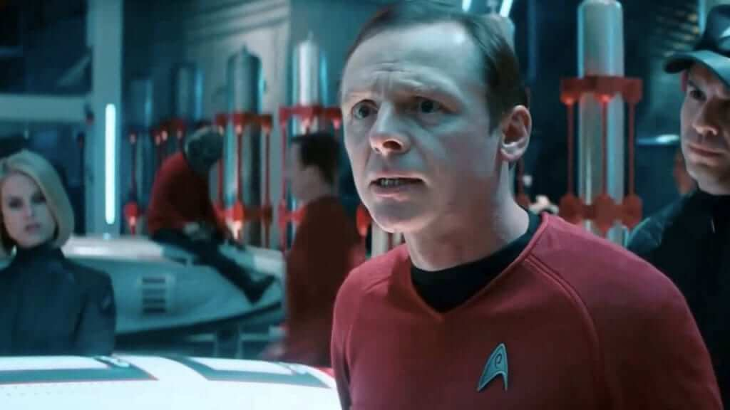 Simon Pegg Gives Update on Star Trek 4