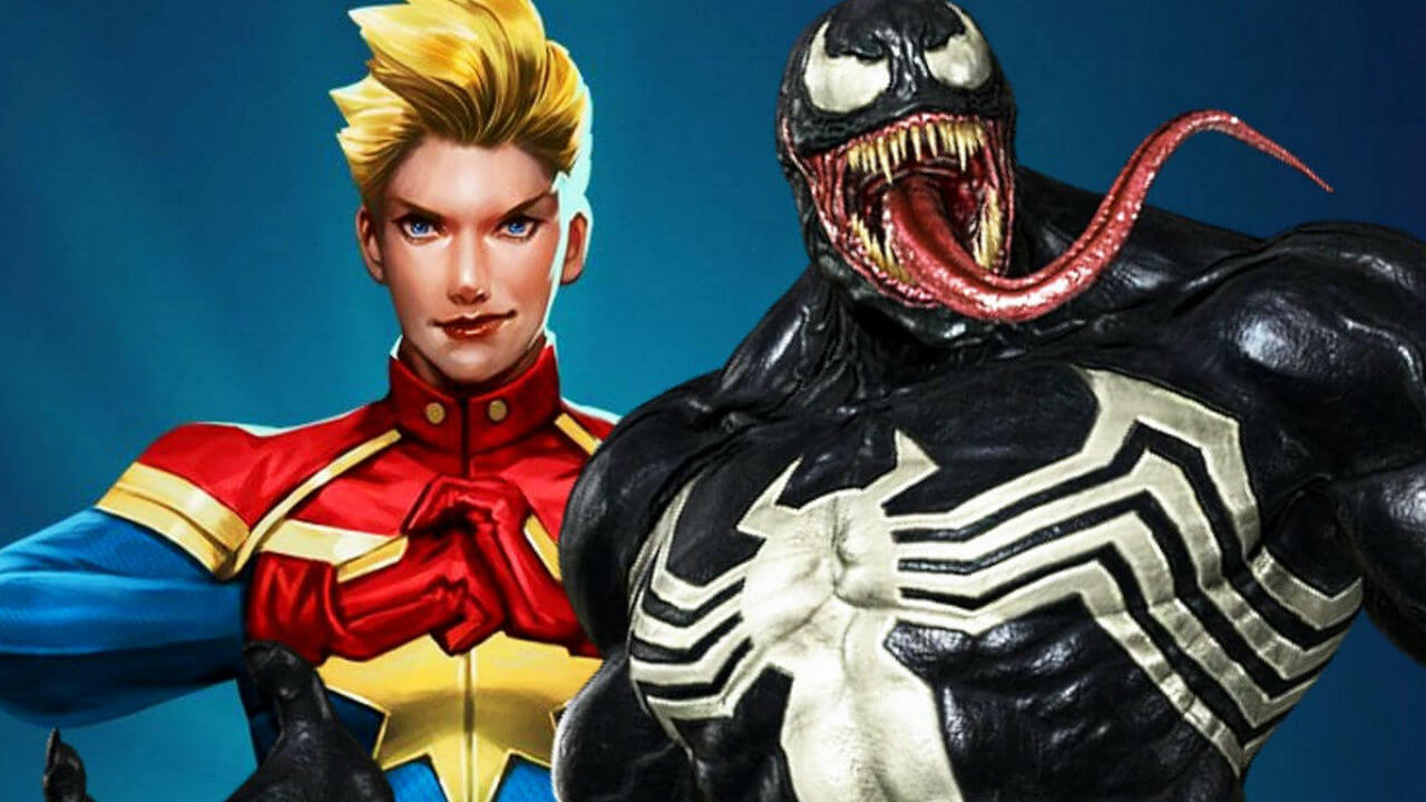 Venom: First Host Alters the Character's Origins to Include Captain Marvel