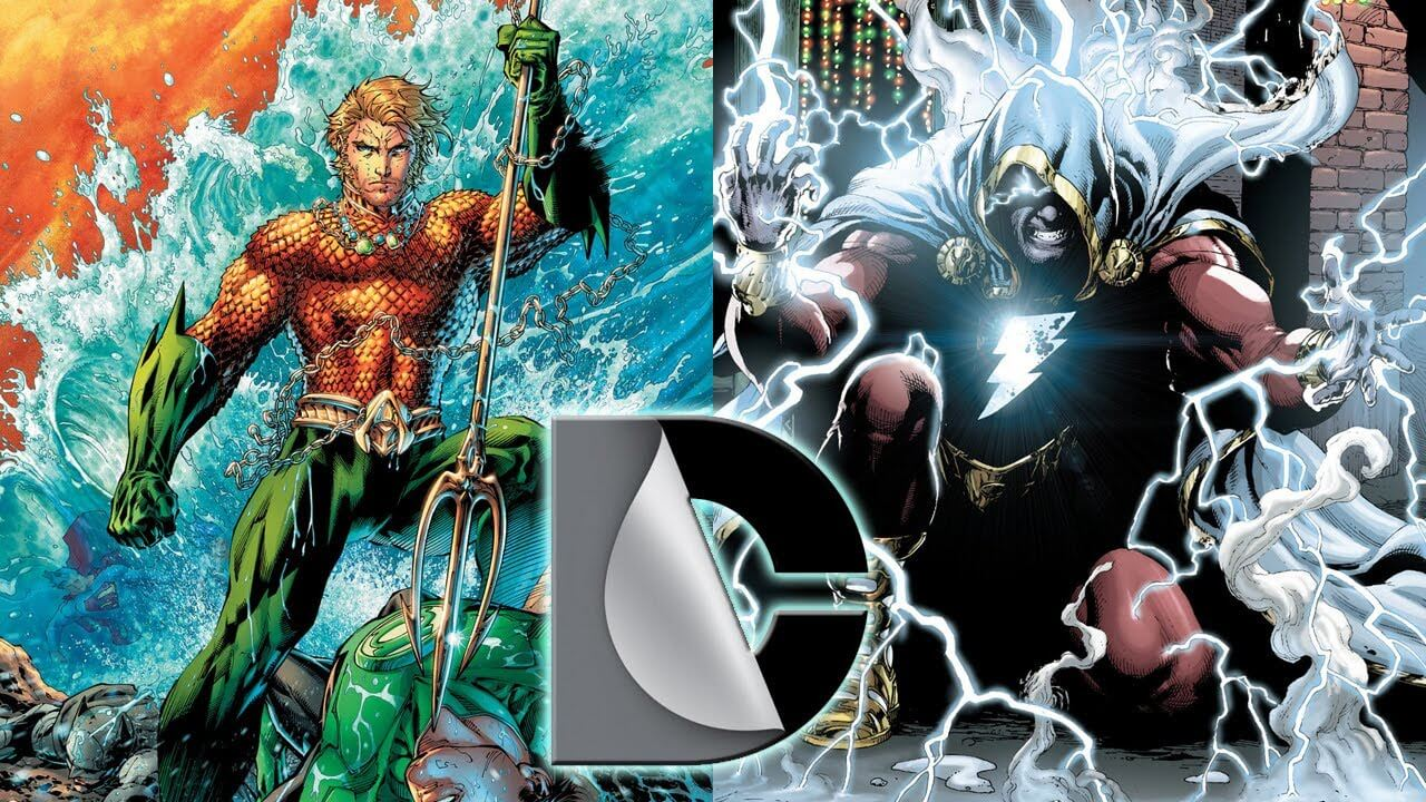 Image result for shazam and aquaman