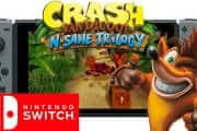 Crash Bandicoot N. Sane Trilogy Doesn't Reach 1080P on Switch