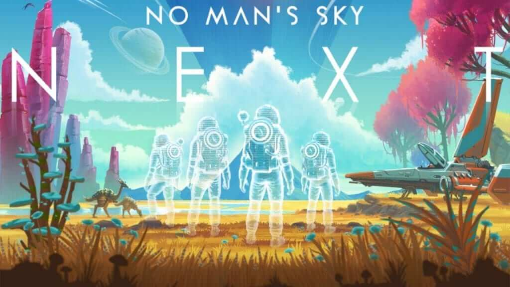 No Man's Sky Tops Steam, Xbox One, and PS4 Most Played with NEXT