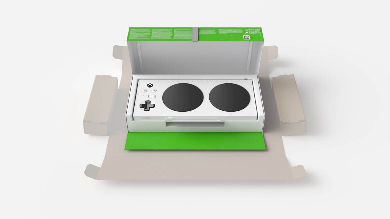 Microsoft Unveils Disabled Friendly Packaged Xbox Adaptive Controller