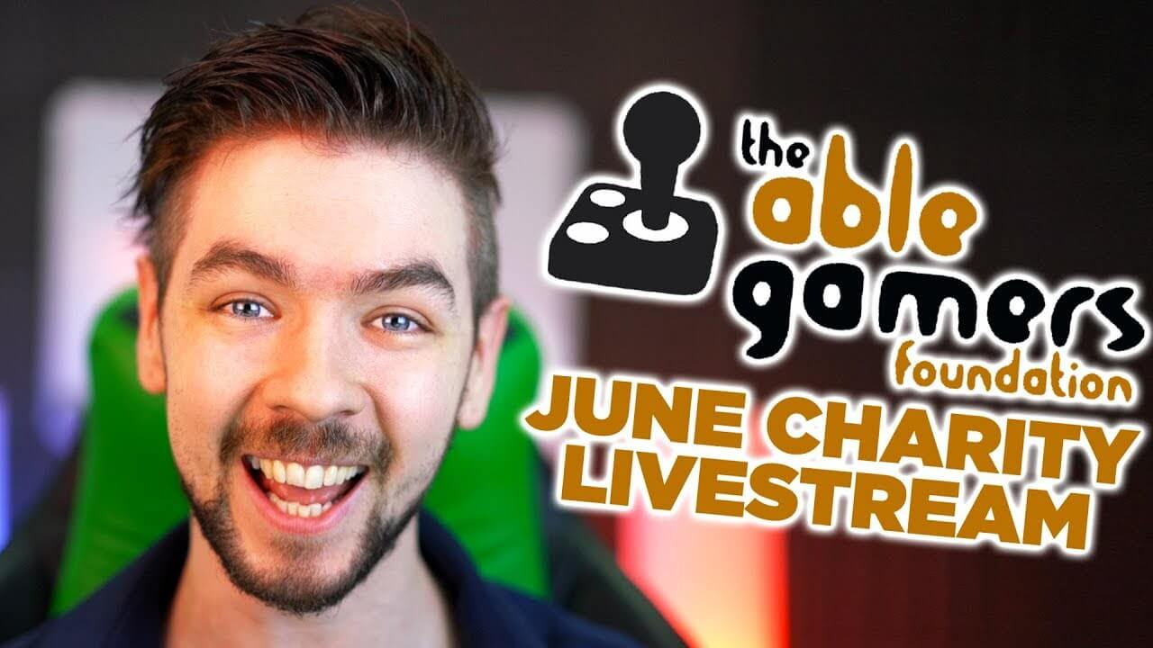 Jacksepticeye Raises Over $150k for AbleGamers Charity