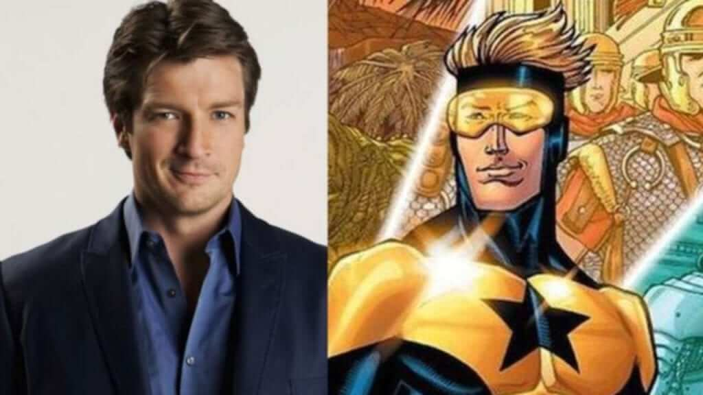 Nathan Fillion Open to Joining the DCEU as Booster Gold