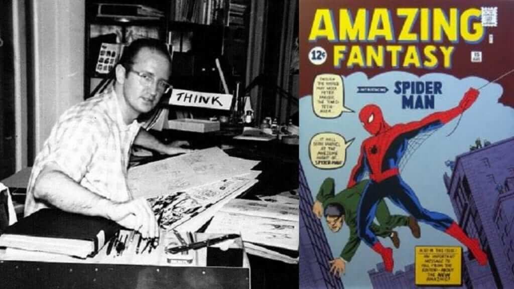 Stan Lee Remembers Steve Ditko in a Touching Video Tribute