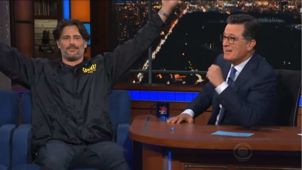 Joe Manganiello Talks Dungeons and Dragons with Stephen Colbert