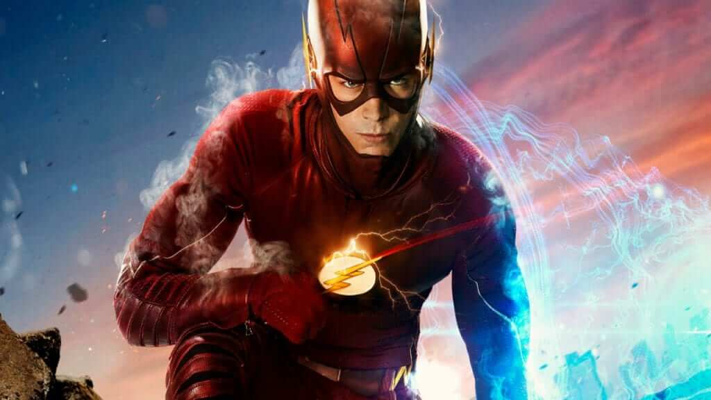 Grant Gustin Officially Reveals New Flash Suit