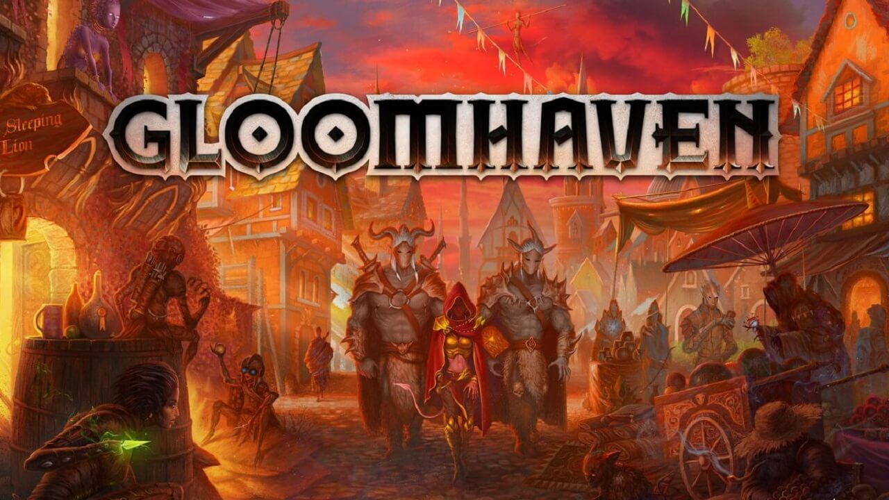 Gloomhaven - Tabletop Dungeon Crawler Headed to Steam