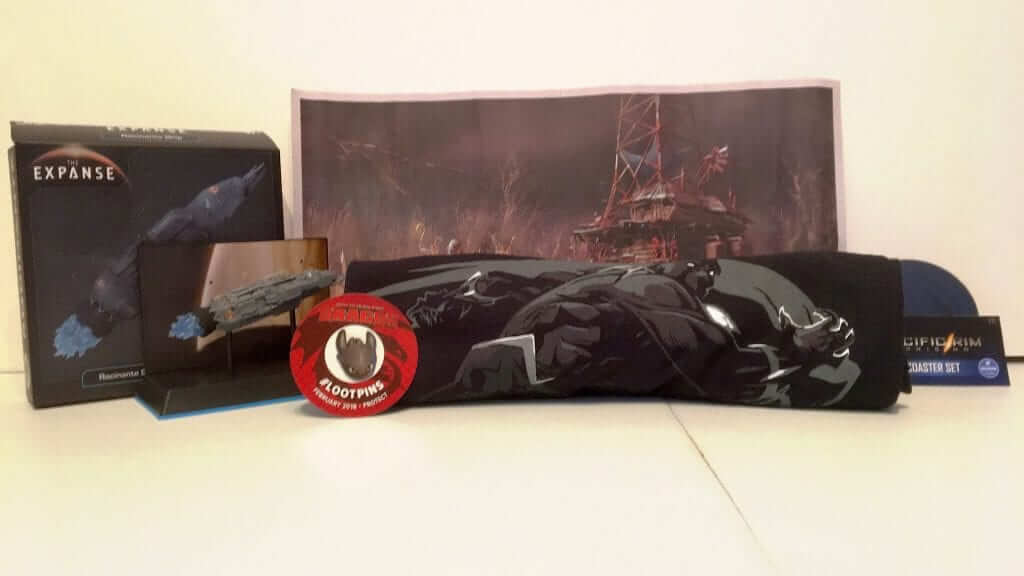 Loot Crate: An Awesome Box of Collectibles and Apparel - Review
