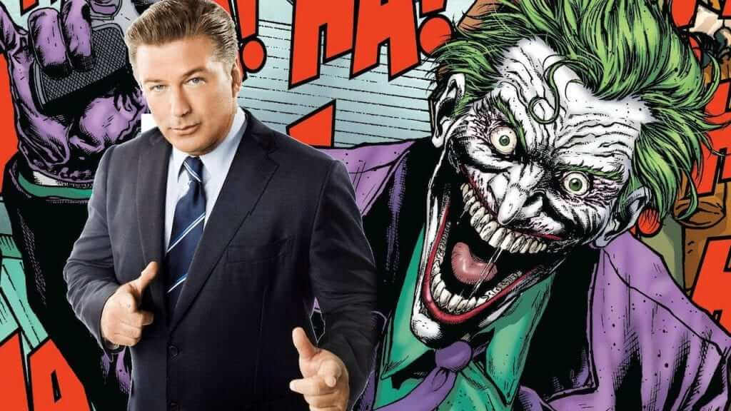 Alec Baldwin is Already Out of the Upcoming Joker Solo Movie