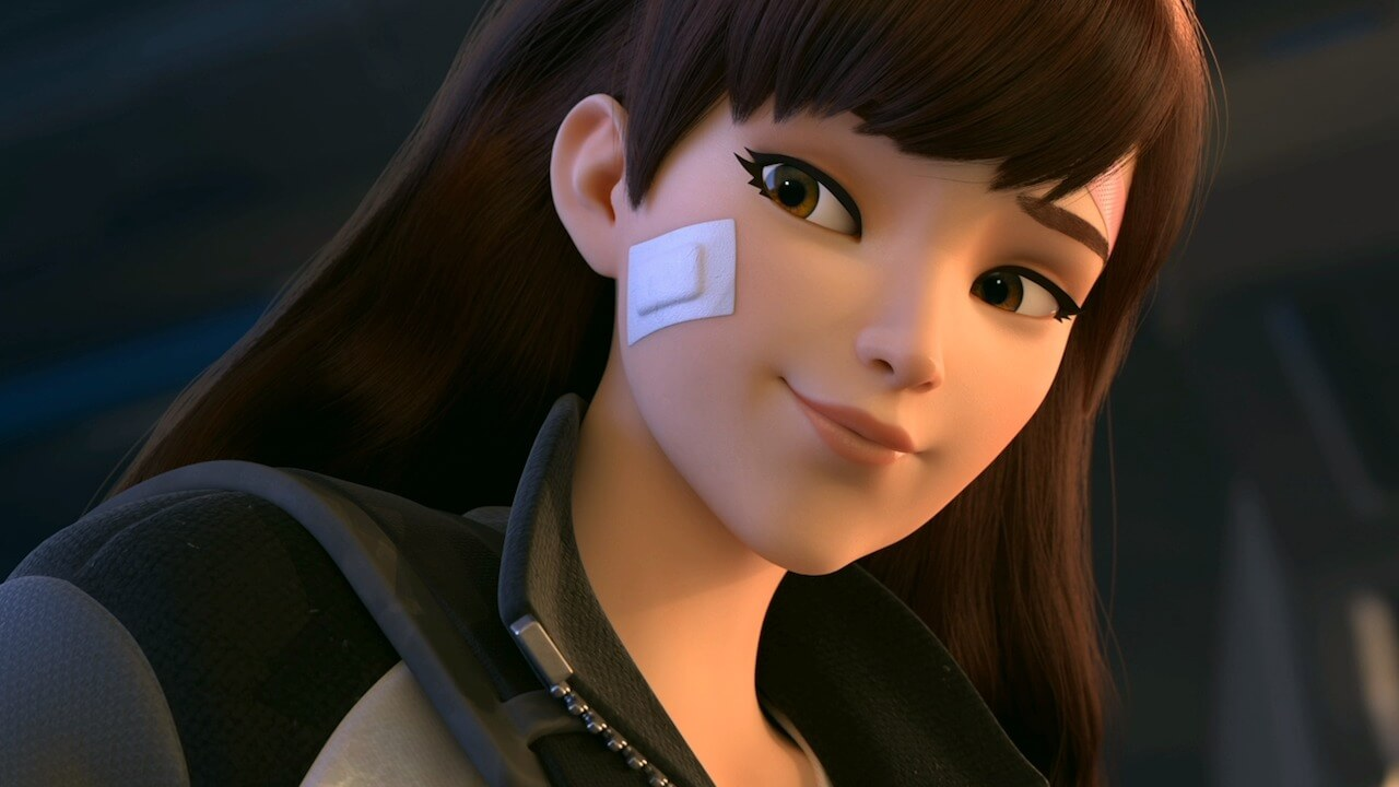 Overwatch Unveils a New D.Va Animated Short and Busan Map